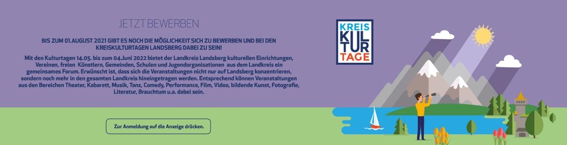 """Kreiskulturtage 2022 """"SEHNSUCHT"""" Bewerbung"""